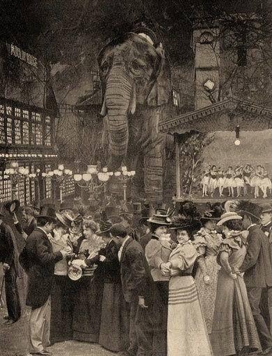 Moulin Rouge, Paris 1890s