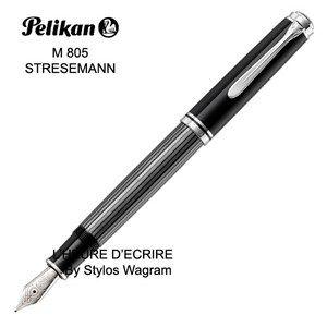 Stylo Pelikan Souverain M805 Streseman Anthracite Plume