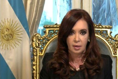 Kirchner anuncia el acuerdo con Irán