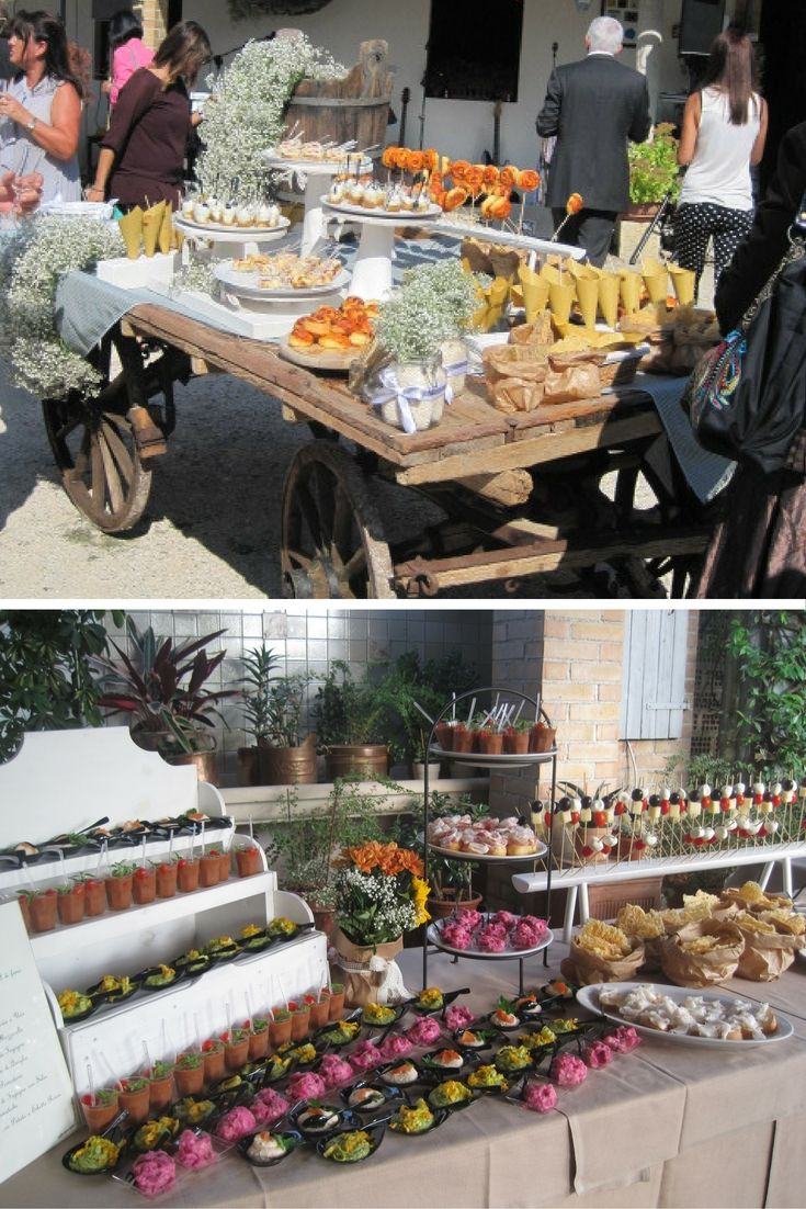 Casale Cjanor offre varie soluzioni per il vostro buffet di nozze. #Wedding #Matrimonio #Buffet