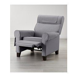 MUREN Recliner, Nordvalla beige | Ikea, Recliners and Medium