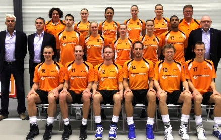 het Nederlands team!