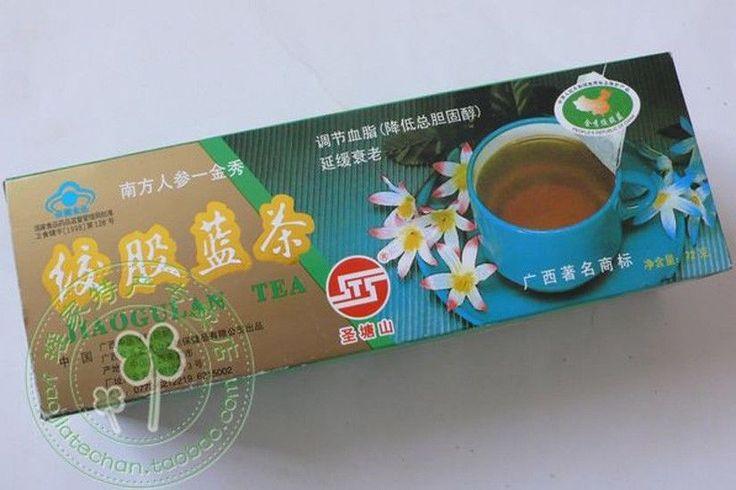 Gynostemma Tea Bag,Jiaogulan 40 Cups 72Gherbal Tea Bag, From Great Yao Mountain
