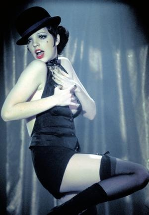 Liza MINNELLI (b. 1946) [] Notable Films:  Cabaret (1972)	; The Sterile Cuckoo (1969); New York, New York (1977); Arthur (1981). Photo: in Caberet. Iconic image!!