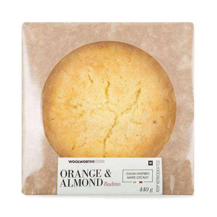 Orange & Almond Budino 440g