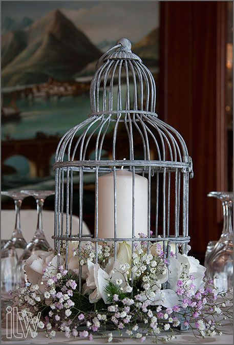 wedding centerpieces birdcages | We are showing here just first images of Ilenia and Stuart's wedding ...