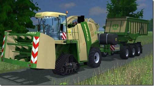 Farming simulator 2013 - Krone BigX 1100 Beastpack Mod