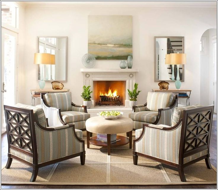 Beautiful Living Rooms With Fireplace 61 best furniture arrangement - four chairs images on pinterest