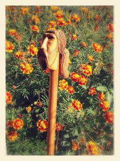 ΞΥΛΟΓΛΥΠΤΙΚΗ WOOD CARVING резьба по дереву Λυδιανός: Ξυλόγλυπτη γκλίτσα
