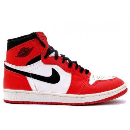 Air Jordan 1 Retro White Black Red