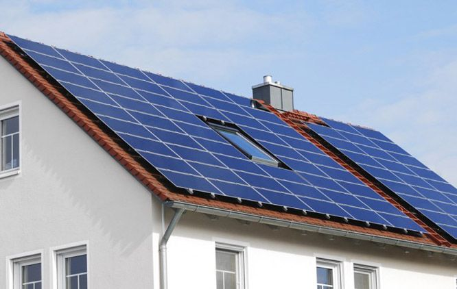 3D Solar Cells Integrated into Solar Roof Tiles.