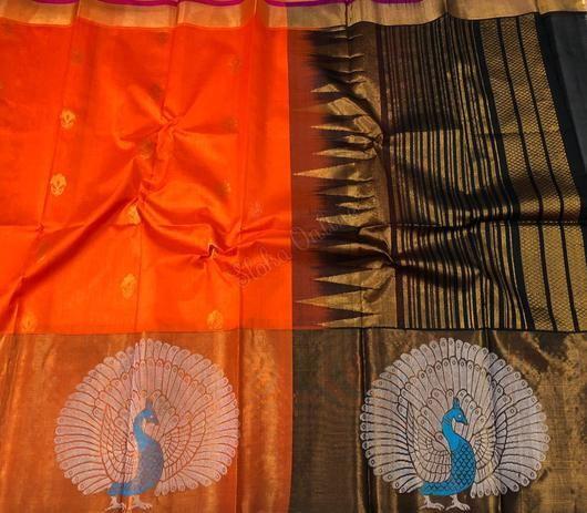 Pure Kanchi Kuppadam Pattu Sarees