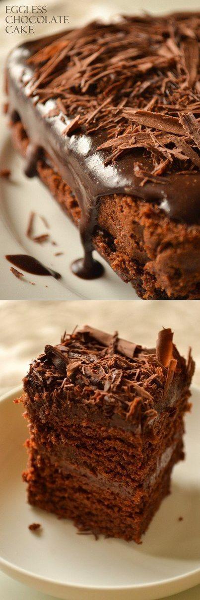 Супер-влажный шоколадный пирог (без яиц) - Простые рецепты Овкусе.ру