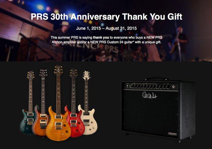 ThankYouPromo from PRS Guitars & John Mann's Guitar Vault