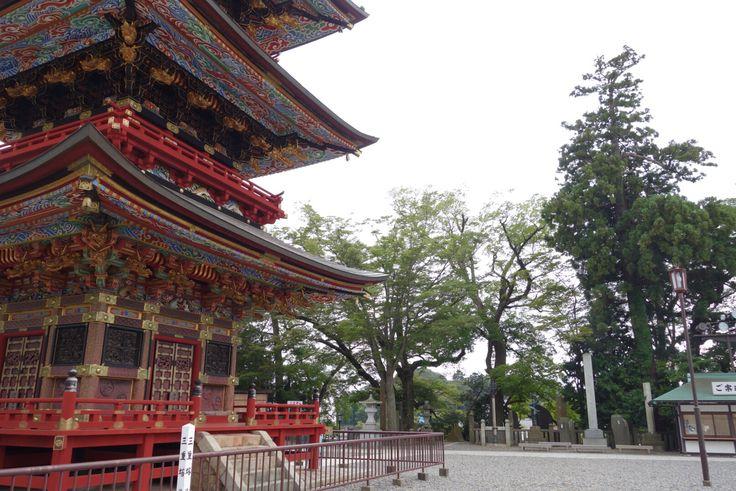 成田山新勝寺 三重塔