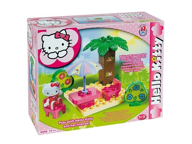 Hello Kitty Picknick set groot. Leuk om deze picknick set van Hello Kitty te geven als verjaardagscadeau voor een dreumes of peuter. Geschikt voor een kind van 1,5 tot 5 jaar. #HelloKitty #bouwspeelgoed #peuterspeelgoed #speelgoed #meisjesspeelgoed #Unico