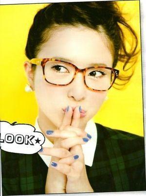 吉高由里子の眼鏡っ娘