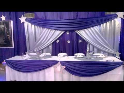 Decoración de salón EVENT LORE, fiesta de 15 - YouTube