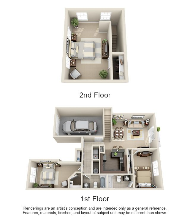 1 2 3 Bedroom Apartment Homes For Rent Renting A House Sims House Design Apartment Layout