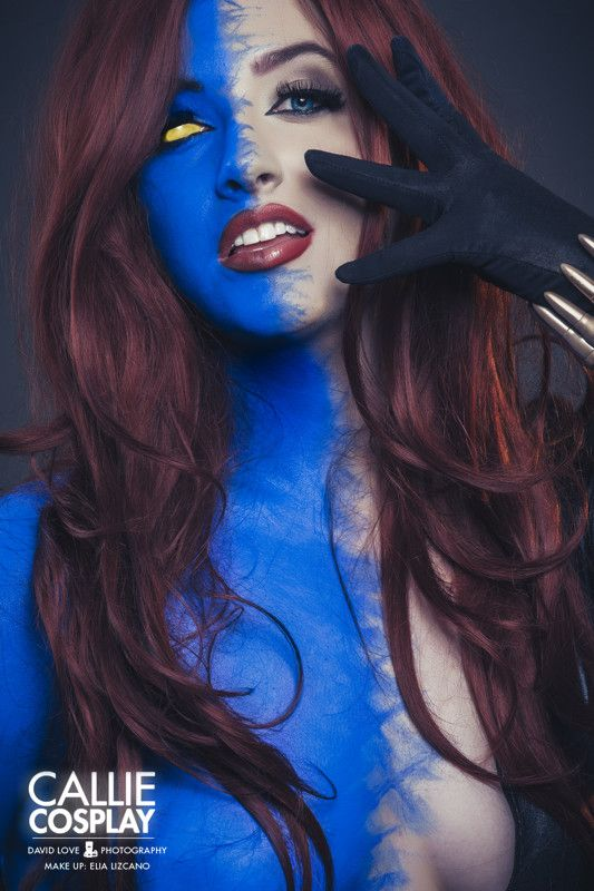 COSPLAY: Callie As MYSTIQUE5