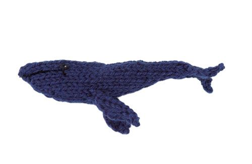 Stitchfinder : Knit Sea Creature: Blue Whale : Frequently