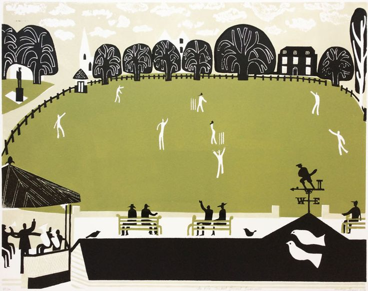 The Vine Cricket Ground, Sevenoaks 35/100 by Melvyn Evans