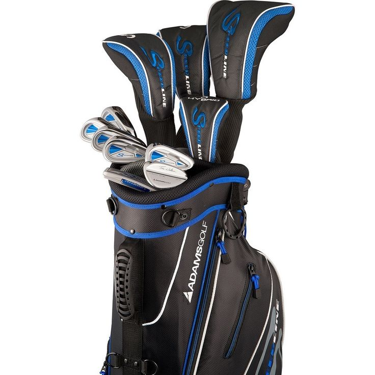 Adams Golf Men's Speedline Complete Set Golf Clubs With Bag | Overstock.com Shopping - Top Rated Adams Bag & Club Sets
