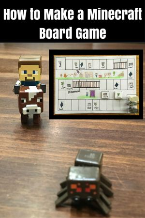 How to Make a Minecraft Board Game • Cuddle Fairy