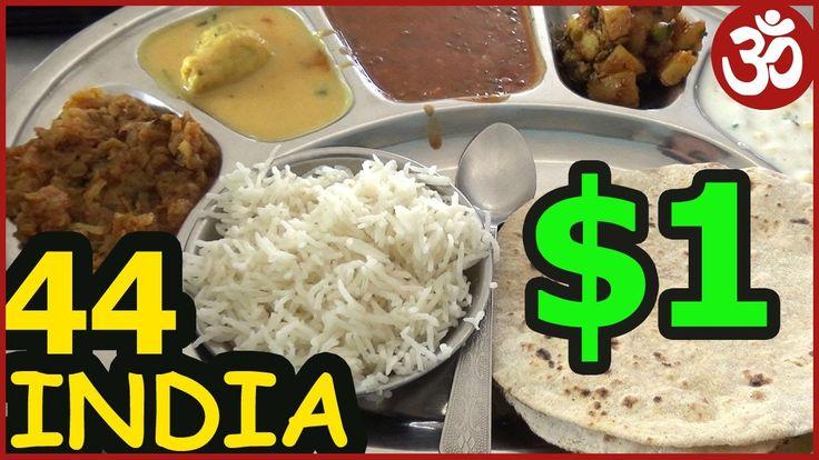 ИНДИЯ 44. Индийская кухня еда за 1 Доллар - Тали. Сладости Джалеби. Где ...