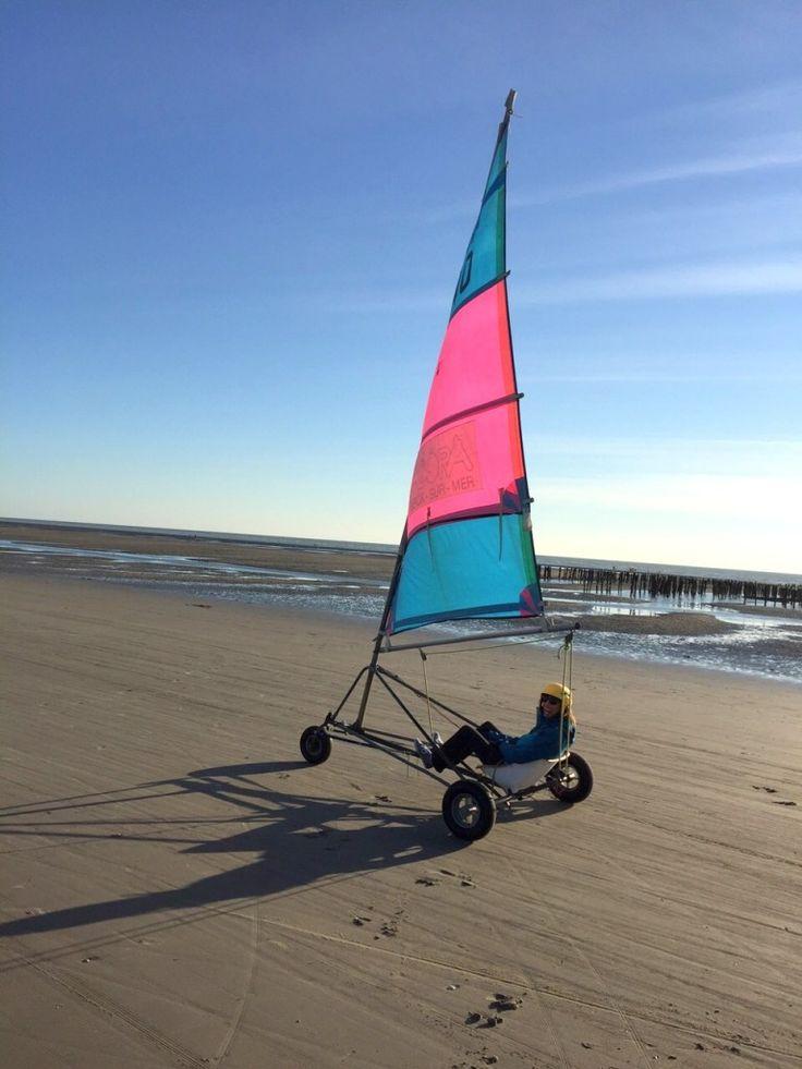 Char à voile - Berck plage - Pas de Calais - Côte d'Opale