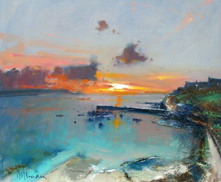 Peter Wileman, British Artist | The Harbour Gallery Portscatho
