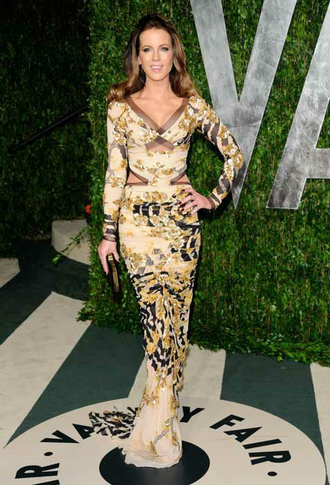Kate Beckinsale at the Vanity Fair Oscar party!!