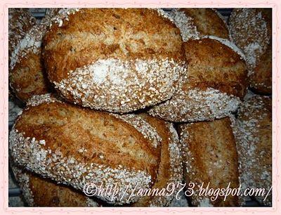 Булочки с 7-ми злаками - 7 Korn-Brötchen | Выпечка хлеба и не только...