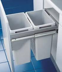 integrated kitchen bins nz - Google Search