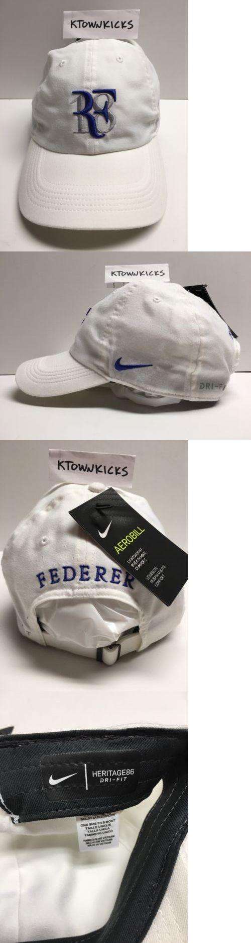 Hats 163543: Nike Roger Federer Grand Slam 18 Major Heritage 86 Hat White Aj6694 100 -> BUY IT NOW ONLY: $34.66 on eBay!