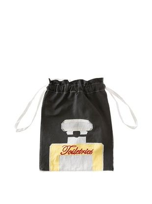 72% OFF Aviva Stanoff Toiletries Laundry Bag, Black/Yellow