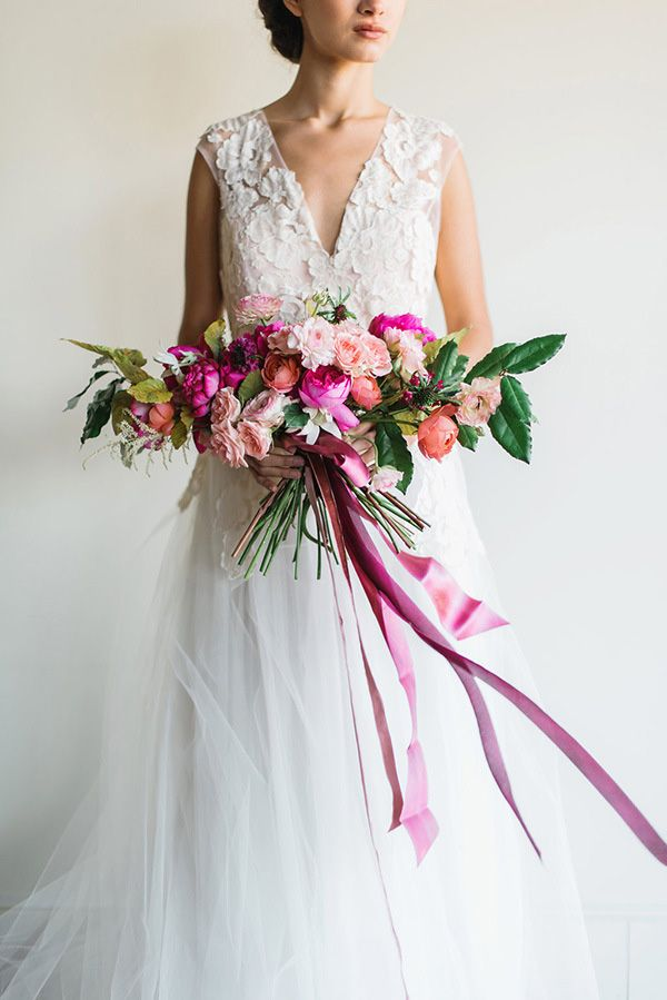 Romantic Modern Wedding Style   Rustic White Photography   Winter Blush - Introducing the Petras Gown by Chaviano Couture!