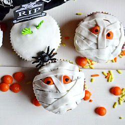 #Halloween Banana Muffins