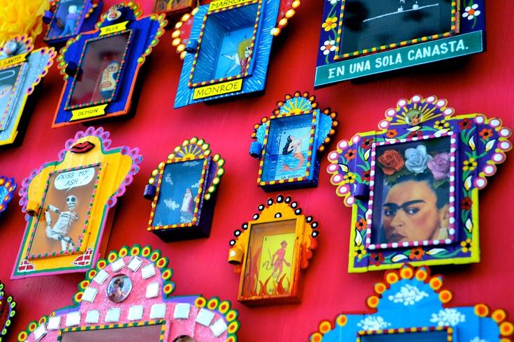 Nichos-Mexican altar boxes. | Nicho - Mexican Altar Box ...