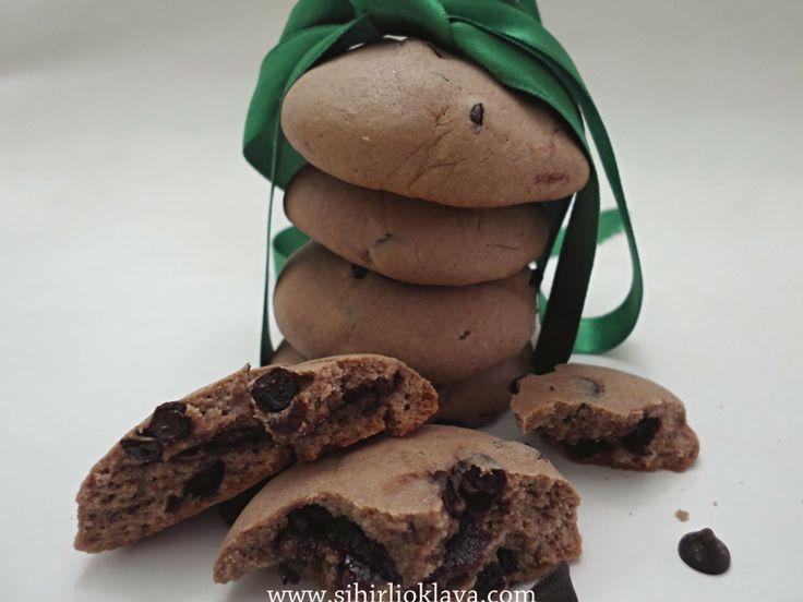 Nutellalı kurabiye cookies