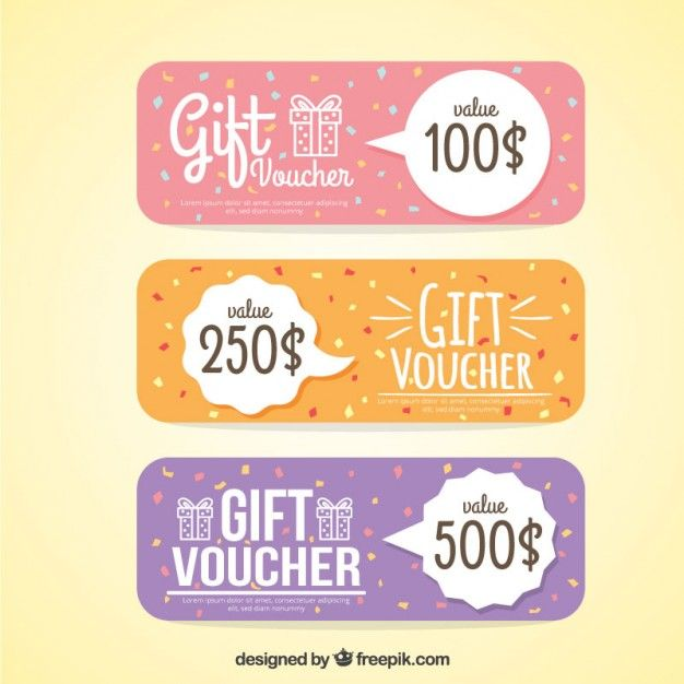 114 best Design images on Pinterest - design gift vouchers free