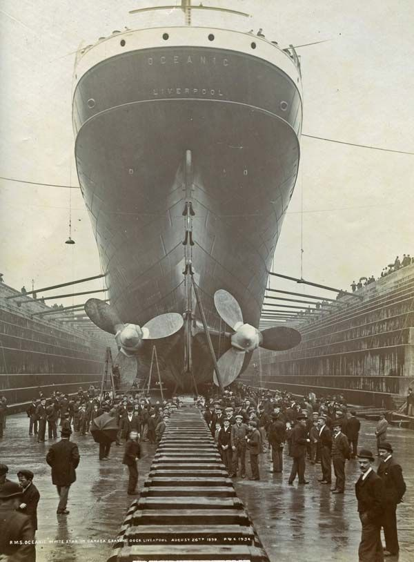 The Oceanic, the predecessor of the Titanic