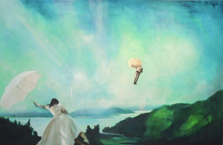 Gro Mukta Holter - Come Fly... I love, love, love her art!