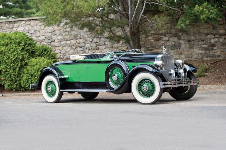 1929 Packard 645 Roadster - Worldwide Auctioneers sold for $462K