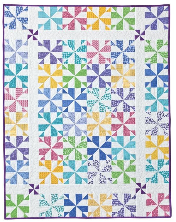 Whirligig: Eleanor Burns Signature Quilt Pattern: