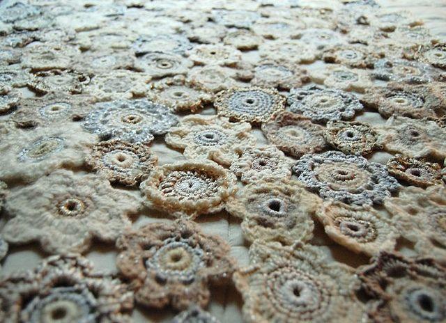 Crochet blanket - motif inspiration