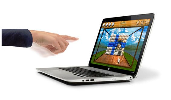 HP Envy 17 Leap Motion notebook features gesture control technology