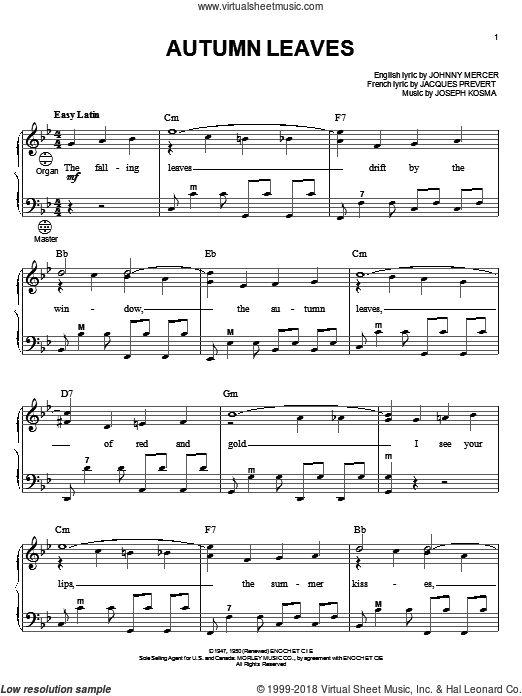 Last leaf falls piano sheet music pdf free