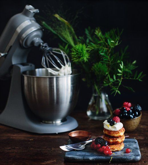 Cheesecake pancakes KitchenAid