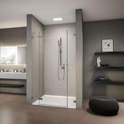 Ber ideen zu duschwand glas auf pinterest for Badezimmer quadratisch